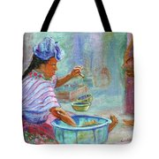 Guatemala Impression Iv Tote Bag