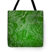 Guatemala Street Map - Guatemala City Guatemala Road Map Art On  Tote Bag