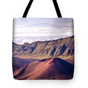 Haleakala Sunrise On The Summit Maui Hawaii - Kalahaku Overlook Tote Bag