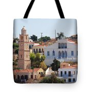 Halki Island Greece Tote Bag