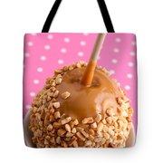 Hand Dipped Caramel Apples Tote Bag