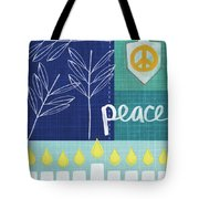 Hanukkah Peace Tote Bag