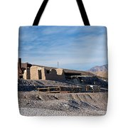 Harmony Borax Works Death Valley National Park Tote Bag