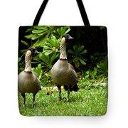 2 Hawaiian Nene Geese Tote Bag