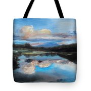 Hawaiian Wave Pool At Dusk Tote Bag