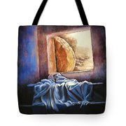 He Is Risen Tote Bag by Susan Jenkins