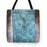 Headstone Abstract Tote Bag