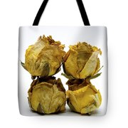 Heap Of Wilted Roses Tote Bag