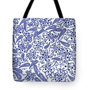 Heart And Flowers Tote Bag