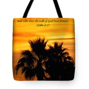Heavenly Sunset Tote Bag