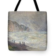 Heavy Sea At Pourville Tote Bag
