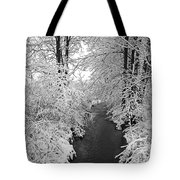 Heavy With Snow Tote Bag