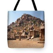 Hindu Ruins At Hampi Tote Bag