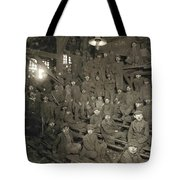 Hine Breaker Boys, 1911 Tote Bag