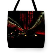 Holland Tunnel Lights Tote Bag