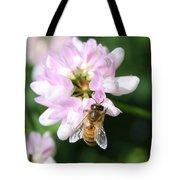 Honeybee On Crown Vetch Tote Bag