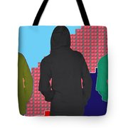 Hoodie Gang Graffiti Fashion Background Designs  And Color Tones N Color Shades Available For Downlo Tote Bag