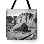 Horse Barn In Fruita Utah Tote Bag