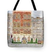 Hotel Washington Square Tote Bag