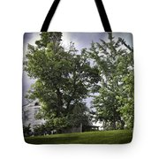 House On The Hill 3 Tote Bag