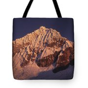 Mt Huandoy Sunrise Peru Tote Bag