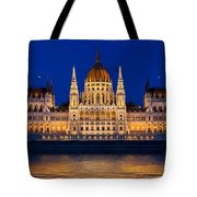 Hungarian Parliament In Budapest Tote Bag