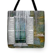 Ice By The Window Tote Bag