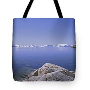 Ilulissat Icefjord Greenland Tote Bag