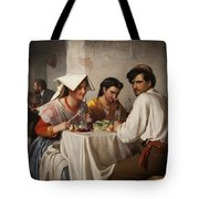 In A Roman Osteria Tote Bag