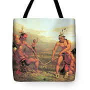 Indian Ball Game Tote Bag