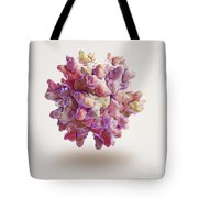 Infectious Bursal Disease Virus Tote Bag