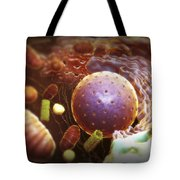 Inner Workings Of A Human Cell Tote Bag