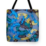 Interlock 3 Tote Bag by Anthony Morris