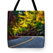 Into The Sunset Watercolor Tote Bag