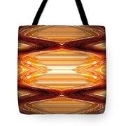 Intrepid Zigzags Tote Bag