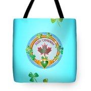 Irish Canadian Tote Bag