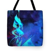 Islamic Calligraphy Tote Bag by Catf