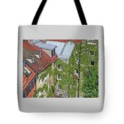 Ivy Courtyard Tote Bag
