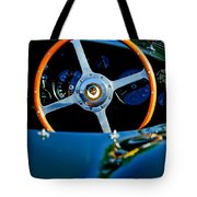 Jaguar Steering Wheel Tote Bag