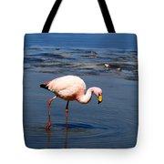 James Or Puna Flamingo Tote Bag