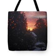 January Sunrise From Civill Avenue Tote Bag