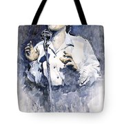 Jazz Billie Holiday Lady Sings The Blues  Tote Bag