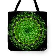 Kaleidoscope Of Glowing Circuit Board Tote Bag