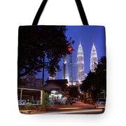 Kampung Baru Nightfall Tote Bag
