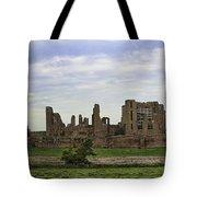 Kenilworth Castle Panorama Tote Bag