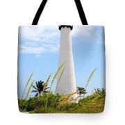Key Biscayne Lighthouse Tote Bag
