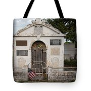 Key West Cemetery Tote Bag