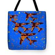 Kids Love Aeroplane Interior Decorations Signature   Art  Navinjoshi Artist Created Images Textures  Tote Bag