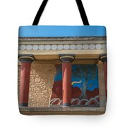 Knossos Palace Tote Bag by Luis Alvarenga