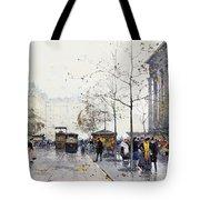 La Madeleine Paris Tote Bag by Eugene Galien-Laloue